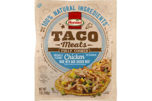 Hormel Fully Cooked Taco Meats Chicken
