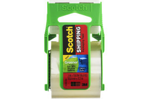 Scotch Greener Shipping Packaging Tape Heavy Duty