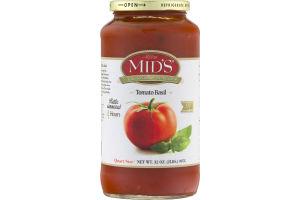 Mid's True Sicilian Pasta Sauce Tomato Basil