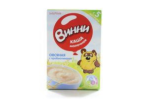 Каша молочная для детей от 5мес овсяная с пребиотиками Винни к/у 220г