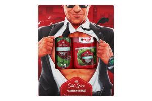 Набор гель для душа+шампунь 2в1+твердый дезодорант-антиперспирант Citron Old Spice 1шт