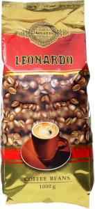 Кава LEONARDO в зернах 1000г