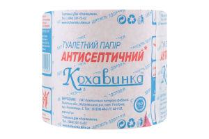 Бумага туалетная антисептическая Кохавинка 1шт