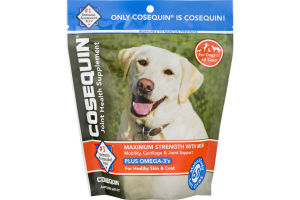 Cosequin Joint Health Supplement Maximum Strength With MSM Plus Omega-3's Soft Chews - 60 CT