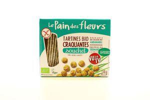 Хлібці LePainDesFleurs органіч.безглютен. з землян.горіх150г