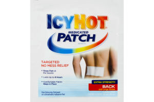 IcyHot Medicated Patch for Back and Large Areas Extra Strength