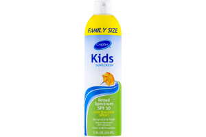 CareOne Kids Sunscreen Broad Spectrum SPF 50 Continuous Spray Family Size