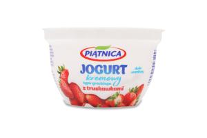 Йогурт Piatnica типа Греческий клубника 4%
