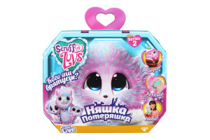 """Іграшка """"Няшка-Потеряшка"""", фіолетовий меланж, FB635CAN06"""