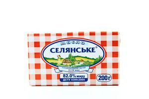 Масло 82% Крестьянское 200г