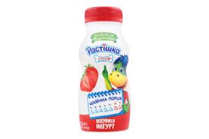 Йогурт 1.5% Полуниця Растішка п/пл 115г