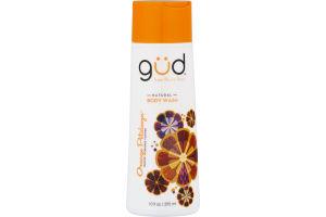Gud Natural Body Wash Orange Petalooza