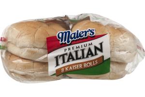 Maier's Premium Italian Kaiser Rolls - 8 CT