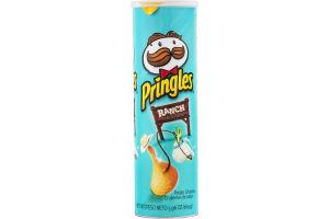 Pringles Potato Chips Ranch Flavored