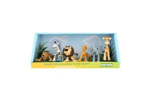 Набір іграшок Сафарі Baby Team 6шт
