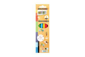 Набор карандашей цветных 6шт D-05