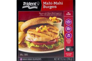 Trident Seafoods Mahi-Mahi Burgers - 4 CT