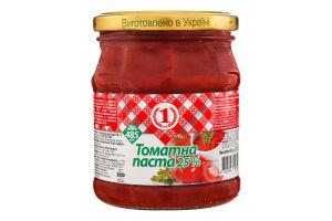 Паста томатна 25% №1 с/б 485г