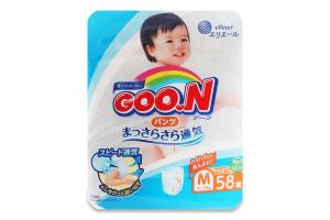 Трусики-підгузники для дітей 6-12кг M Goo.N 58шт