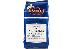 Papa Nicholas Coffee Ground Cinnamon Hazelnut Light
