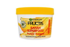 Маска для волос Банан Superfood Экстра питание Fructis Garnier 390мл