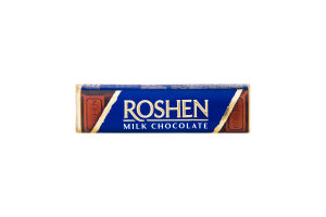 Батончик Roshen молочно-шоколадный крем-брюле 53г
