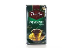 Кофе натуральный жареный молотый Original Presidentti Paulig в/у 250г