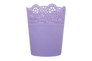 Горшок д/цвет Prosperplast Lace круг лаванда 160мм