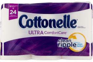 Cottonelle Toilet Paper Ultra Comfort Care - 12 CT