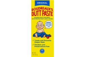 Boudreaux's Butt Paste Diaper Rash Ointment Original