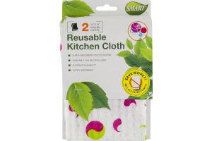 Smart Reusable Kitchen Cloth - 2 CT