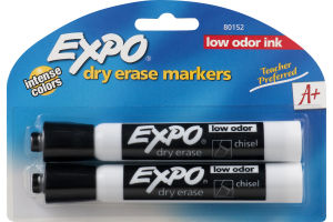 Expo Dry Erase Markers Low Odor Ink - 2 CT