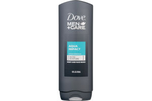 Dove Men + Care Body And Face Wash Aqua Impact