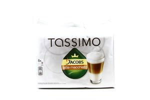 Кофе Jacobs Tassimo Latte Machiato д/кофемаш 8капсул 475,2г