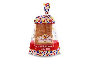Хліб нарізний Європейський тост Теремно м/у 330г