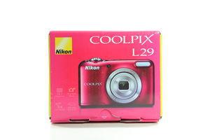 Камера цифрова Nikon Coolpix L29 черв