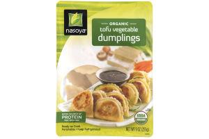 Nasoya Organic Tofu Vegetable Dumplings