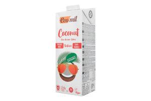 Молоко органическое растительное из кокоса без сахара Ecomil т/п 1л