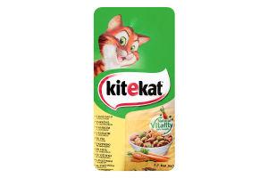 Корм сухой для взрослых кошек с курицей и овощами KiteKat м/у 12кг