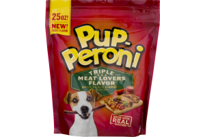 Pup-Peroni Dog Snacks Triple Meat Lovers Flavor