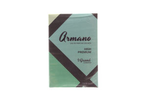 Парфюмированная вода мужская Armano Grand Collection 50мл