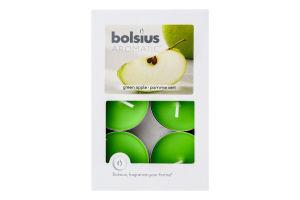 Н-р свечи чайные Bolsius Зеленое яблоко арома 6шт