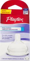Playtex Silicone Nipples Fullsized 3M+ - 2 CT