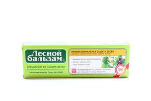 Зубная паста Черная смородина Липа Целебные травы Лесной бальзам 100мл