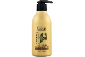 Suave Professionals Natural Infusion Strengthening Light Leave-In Cream with Awapuhi Ginger & Honeysuckle