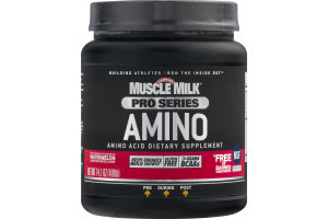 Muscle Milk Pro Series Amino Dietary Supplement Watermelon