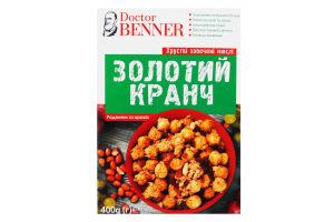 Мюсли запеченные с арахисом Золотий Кранч к/у 400г