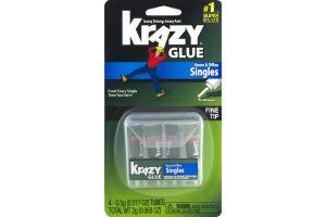 Krazy Glue Home & Office Singles Fine Tip - 4 CT