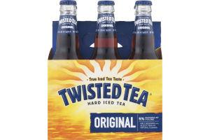 Twisted Tea Hard Iced Tea Original Bottles - 6 CT