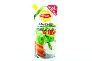 Майонез 53% Вегетарианский стиль Олком д/п 400г